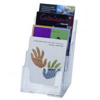 Free-standing/Wall Mounting A5 4-Pocket Brochure Holder