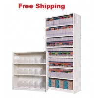 3 Level Adjustable Panel Shelving