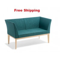 Stockholm 2-seater Chair with Arms