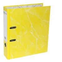 FM Laminated Lever Arch File A4- Yellow
