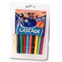 Painting Stick Bic Kidz 30S Felt Pens Pack of 30 (Cascade)