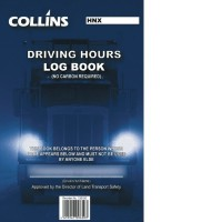 Collins A5 Driving Hours Log Book Triplicate 50lf NCR