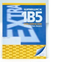 Warwick 1B5 Extra Exercise Book 7mm Ruled 255 x 205mm 50lf