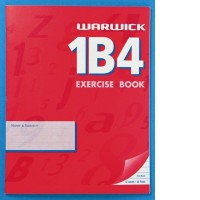 Warwick 1B4 Exercise Book 7mm Ruled 230 x 180mm 32lf