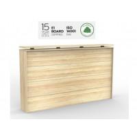Cubit Reception desk front 1800 Atlantic oak