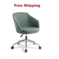 Talia with 5-star Swivel Chrome Base Chair