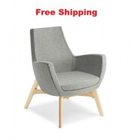 Treviso with Timber Base Chair
