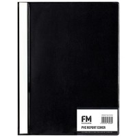 FM REPORT COVER LW320 A4- BLACK/BLUE/GREEN/YELLOW/RED