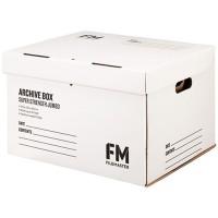 FM JUMBO JUMBO ARCHIVE BOX NO.3 WHITE 432X370X286MM
