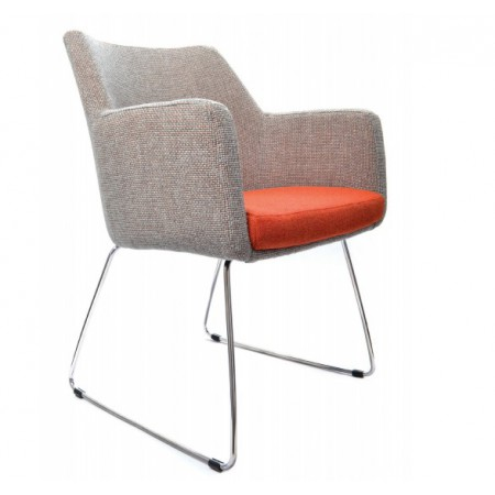 Hady Sled Base Chair