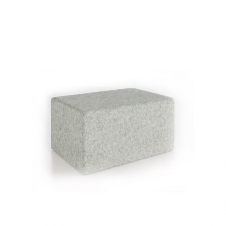 Block Single Seat Ottoman
