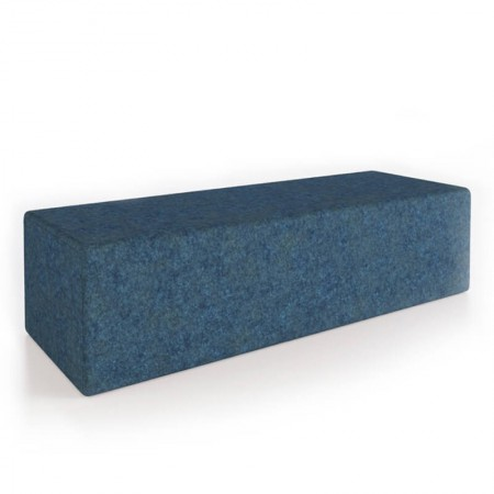 Block Double Seat Ottoman
