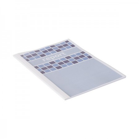 GBC Thermal Binding Cover 6.0mm White Pk100