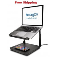 Kensington Smartfit Laptop Riser with Qi Black