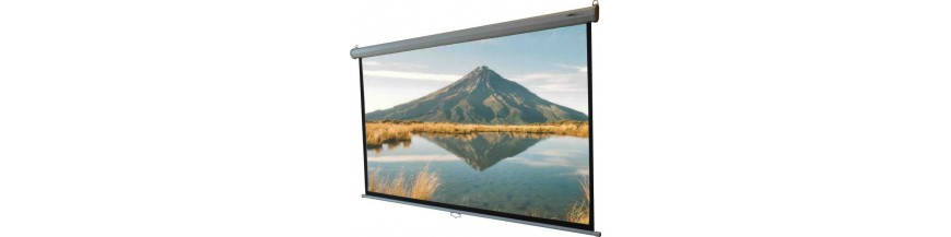 Projectors  & Projection Screens